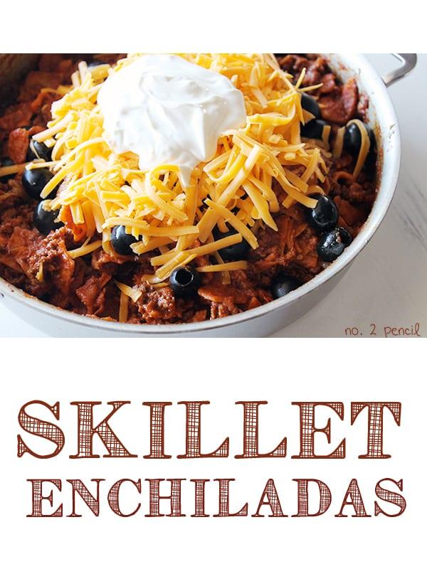 Skillet Enchiladas 3