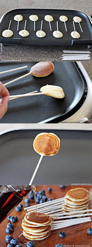 Pancake pops no 2 pencil add enough milk to make batter stir able 1 2 tablespoons depending on the thickness of the yogurt pancake pops ccuart Choice Image
