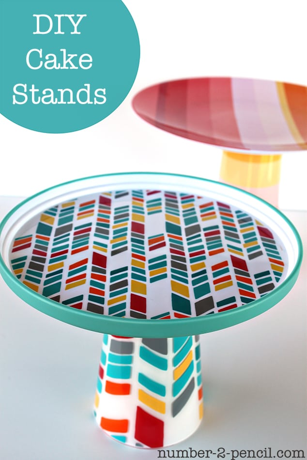 Diy Cake Stands No 2 Pencil