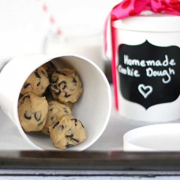Freeze Cookie Dough for Gift Giving