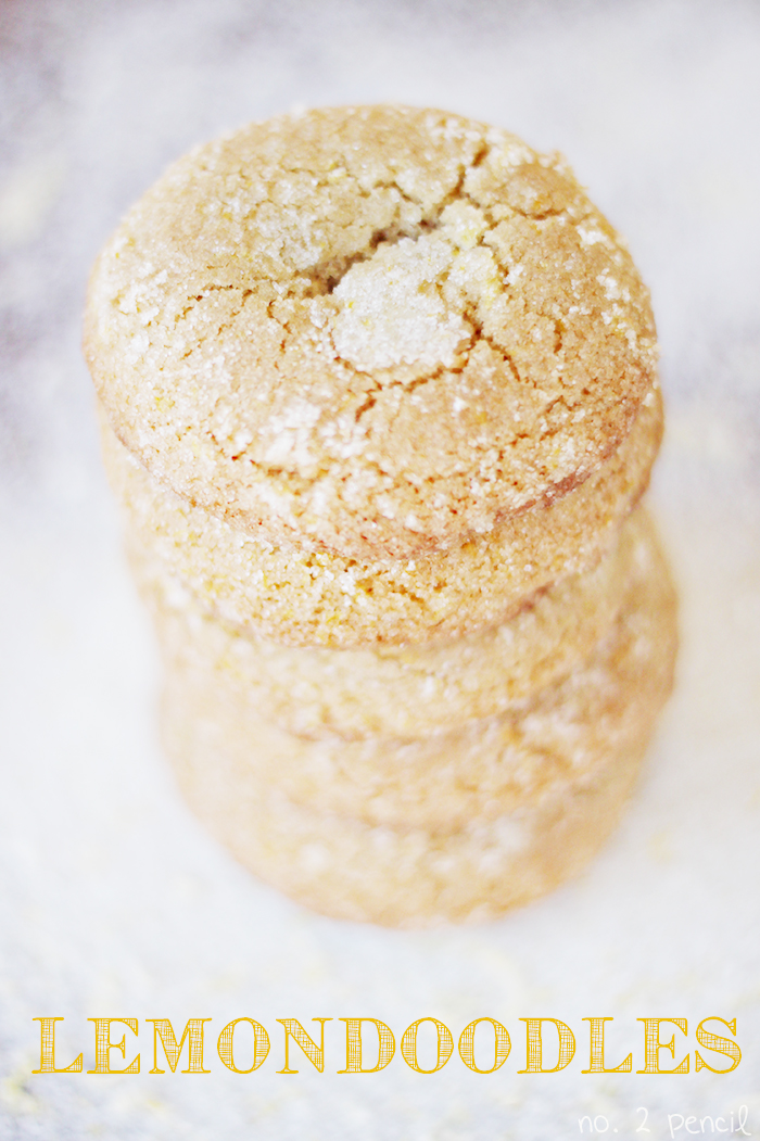 Lemondoodles - a lemon snickerdoodle!