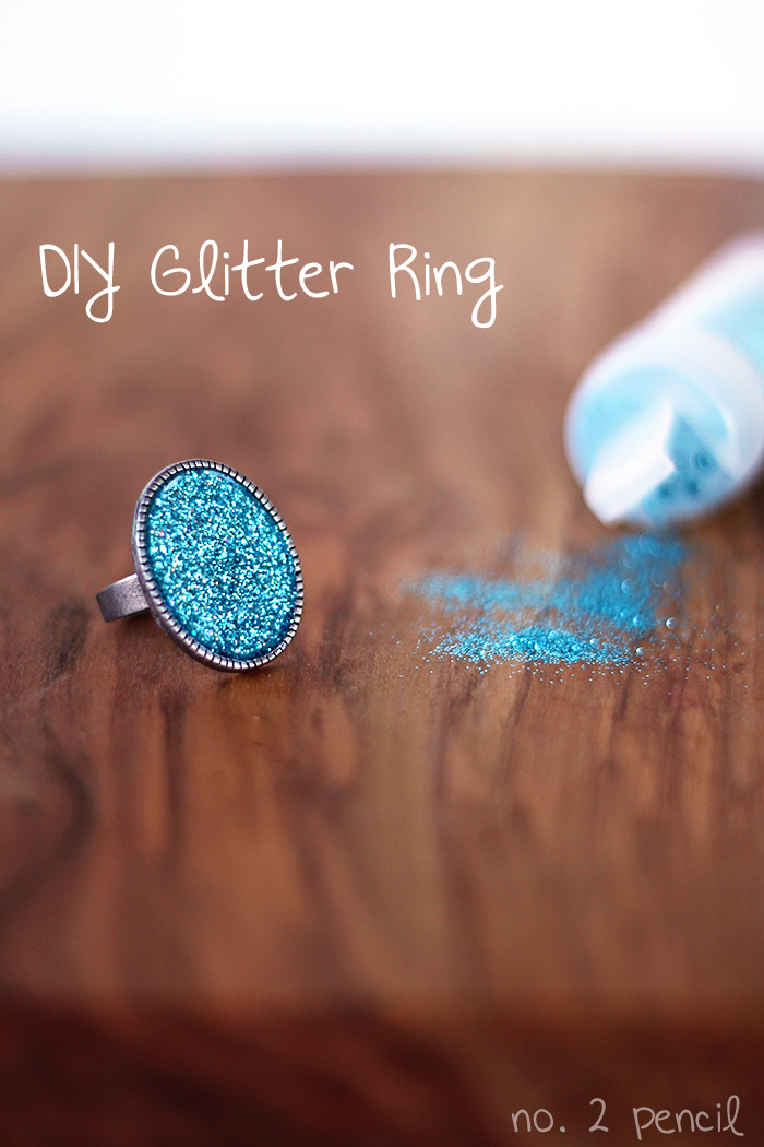 Diy glitter ring with mod podge dimensional magic no 2 for Michaels crafts jewelry supplies