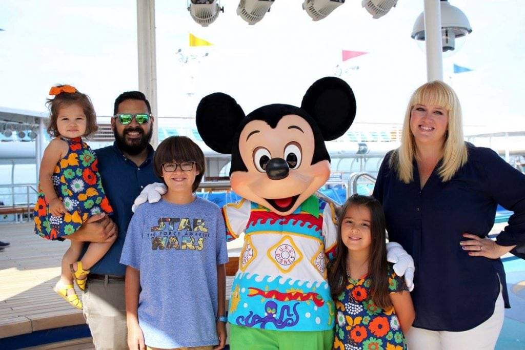 Disney Cruise Family Picture