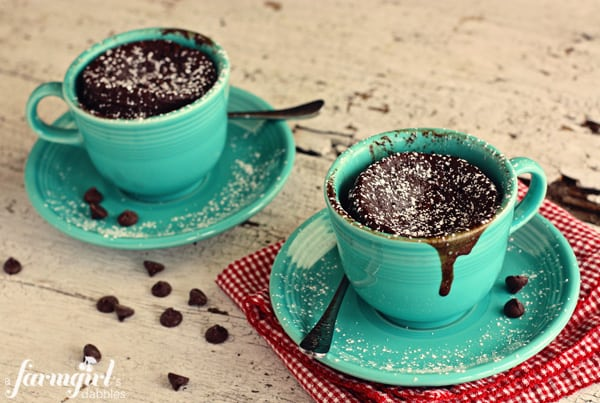 Mug Chocolate Cake Cups