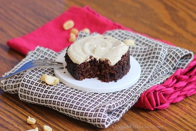 Mug Chocolate Peanut Butter Cake