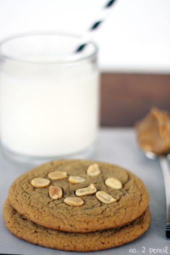 Bake Just Two Peanut Butter Cookies
