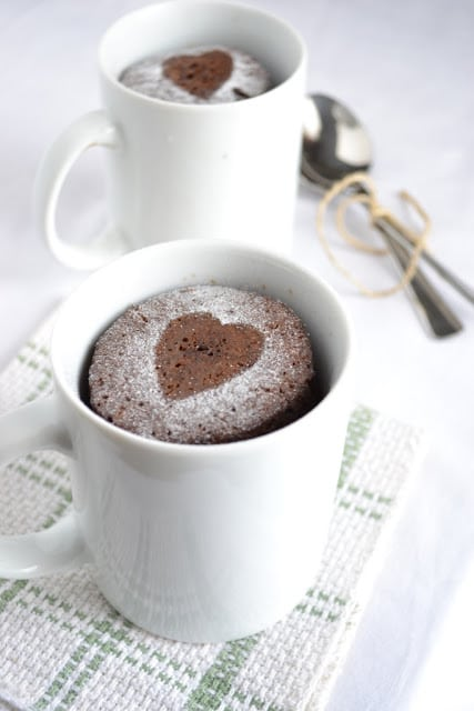 mug chocolate espresso cake