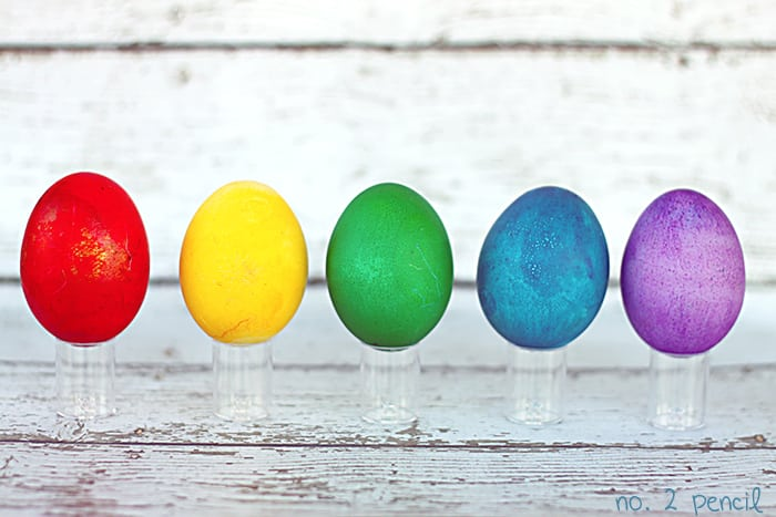 rainbow easter eggs super bright easter eggs the easy way - Easter Egg Images 3