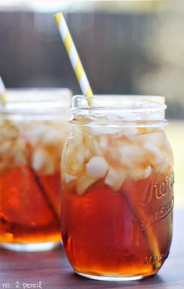 The Perfect Sweet Tea Recipe - there is a secret ingredient!