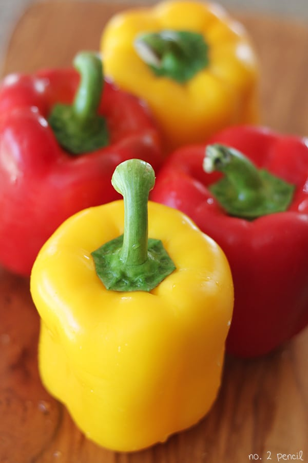 Asian-Style Slow Cooker Stuffed Bell Peppers