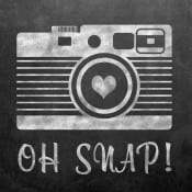 Oh Snap Chalkboard Printable