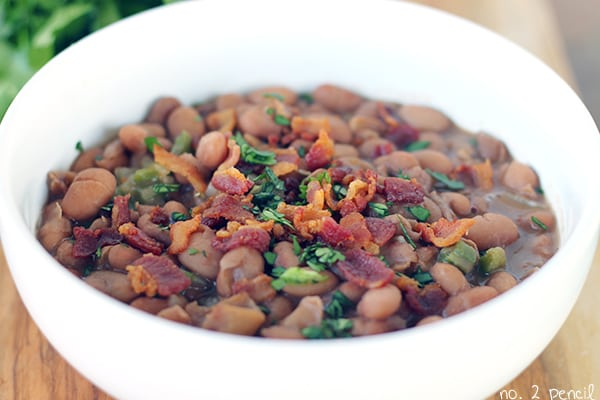 mexican pinto beans mexican style beans with bacon and jalapeno no 2 pencil 30870