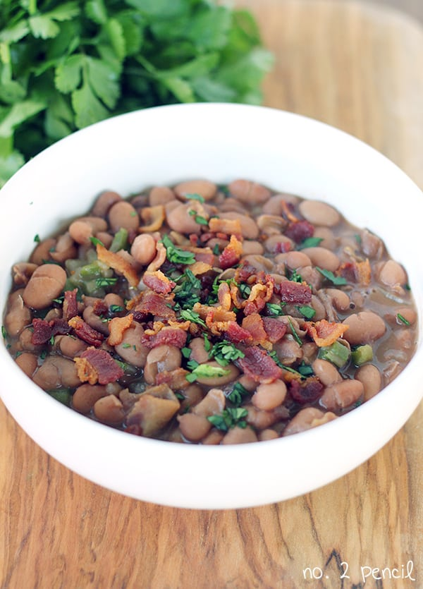 beans with bacon pinto beans with bacon and homemade pinto beans with ...