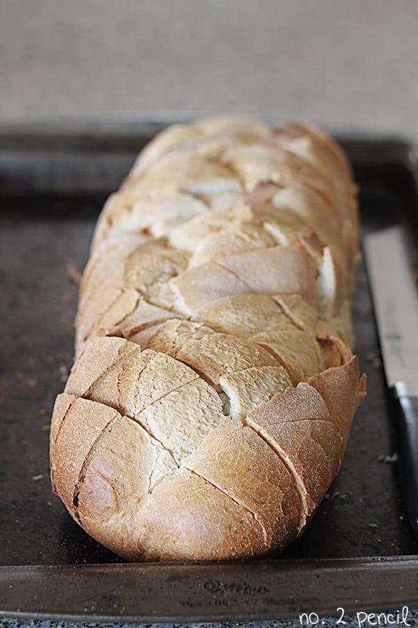 Cheesy Ranch Pull-Apart Bread