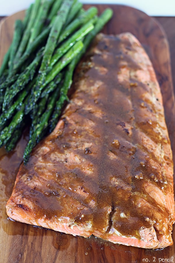 Easy Grilled Salmon - No. 2 Pencil