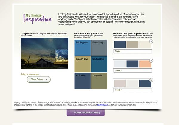 Glidden Paint Color Inspiration