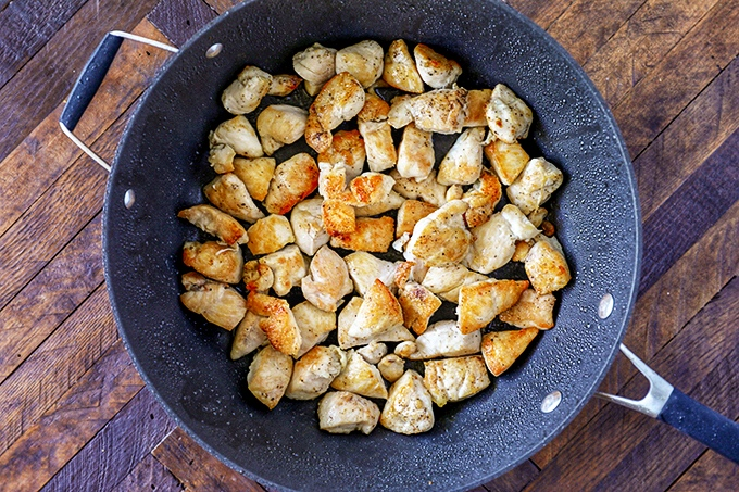 One Pot Chicken Alfredo Recipe