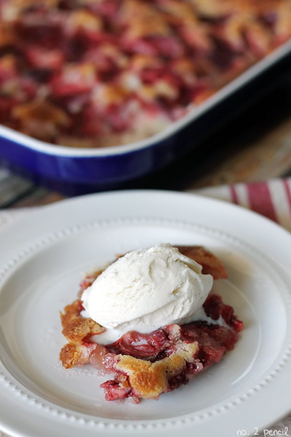 Strawberry Cobbler 2