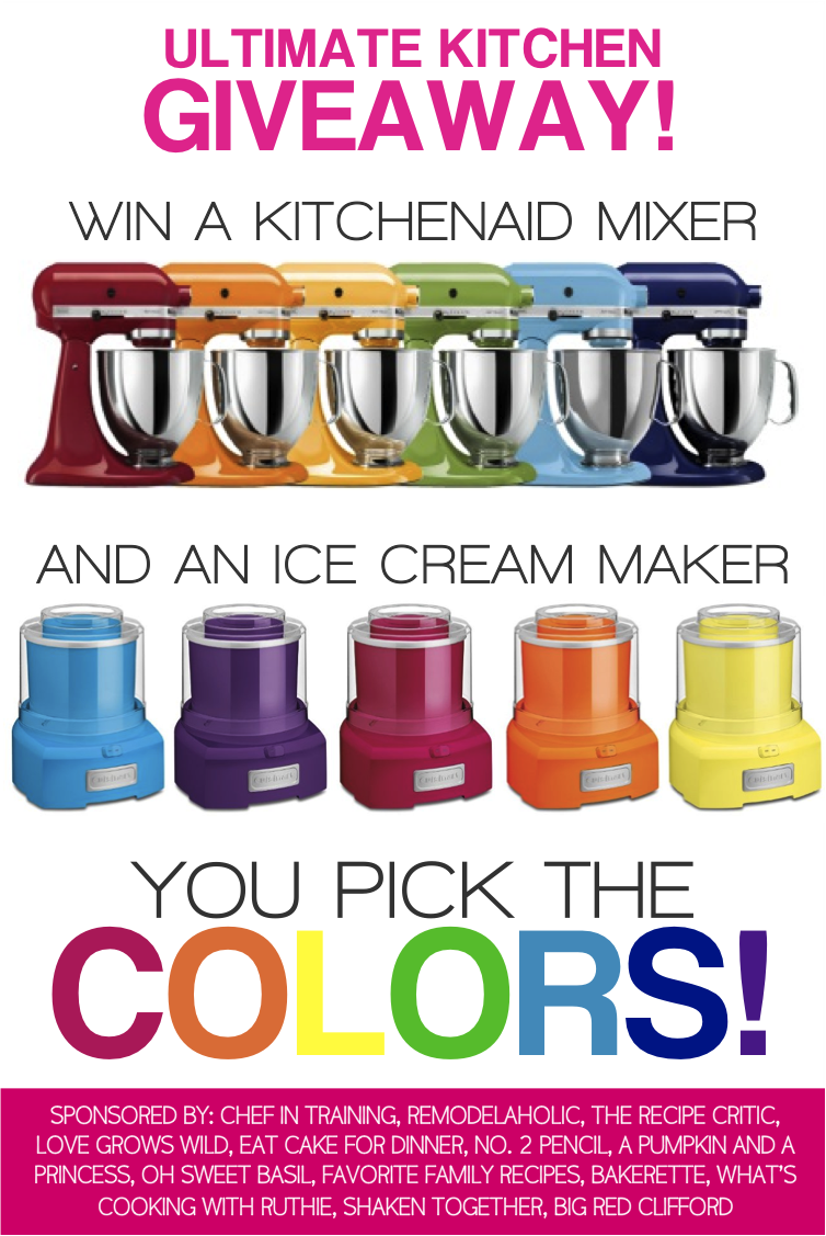 Kitchenaid Mixer Color Chart