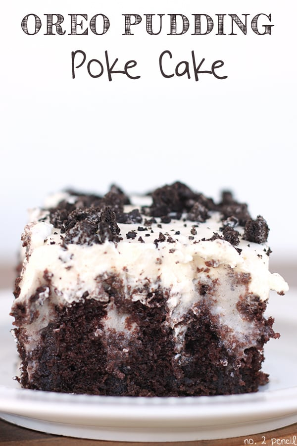 Oreo Poke Cake With Cool Whip