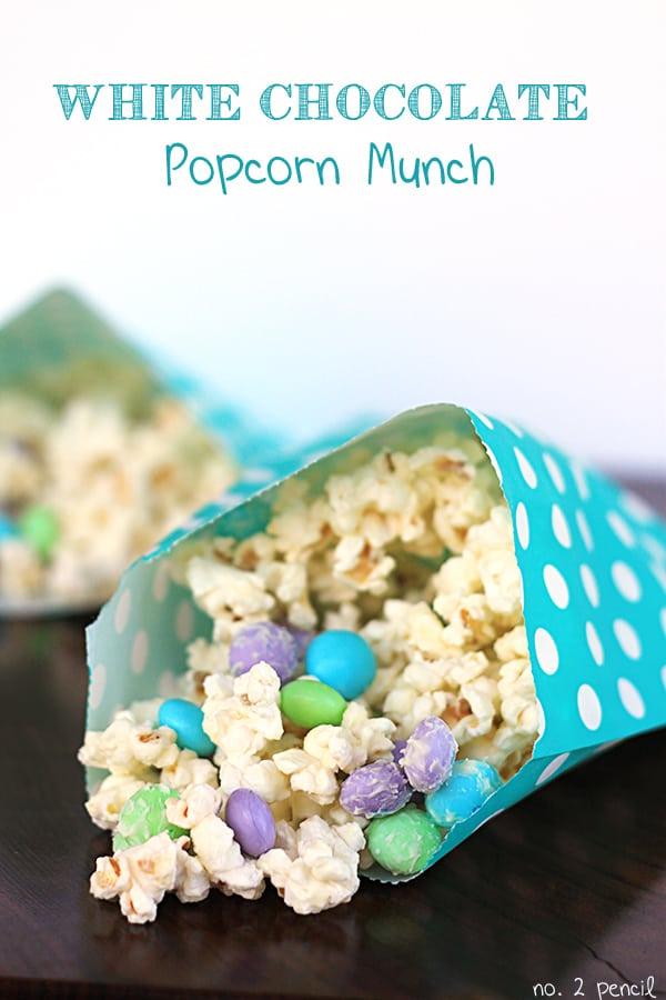 White Chocolate Popcorn Munch aka Mermaid Munch