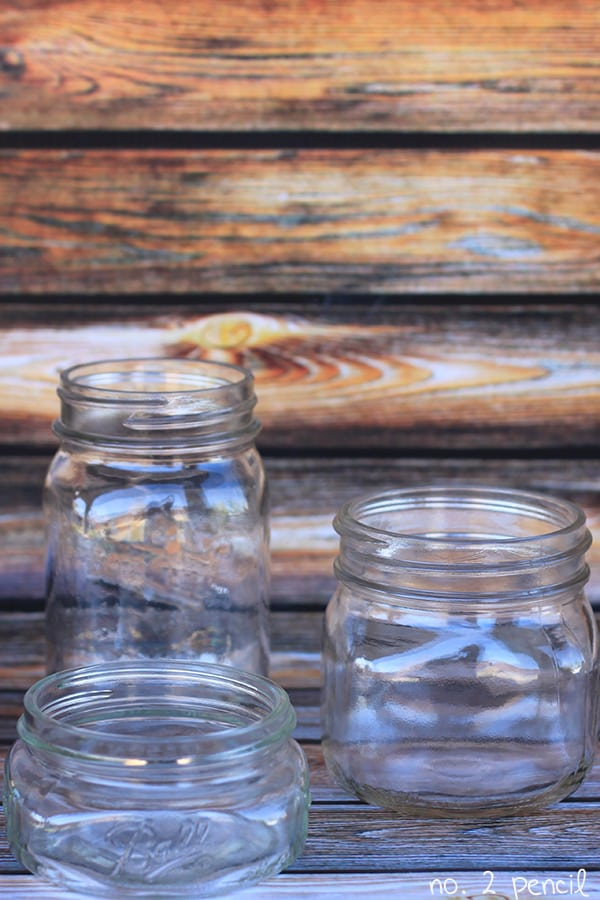 Ghost Mason Jars