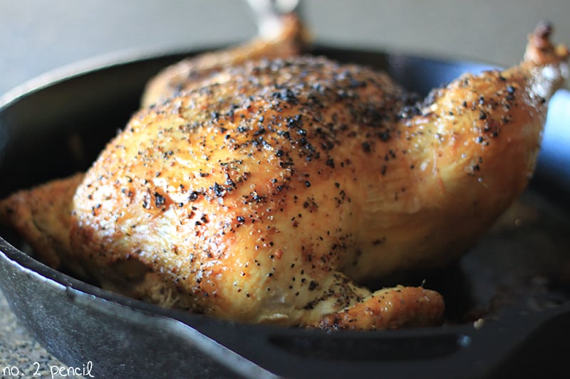 One Hour Roasted Chicken 3