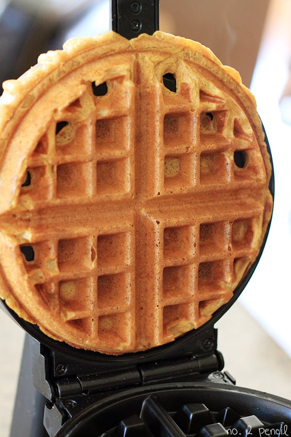 Pumpkin Waffle | 25 Inventive Waffle Iron Recipes To Make With Your Waffle Maker