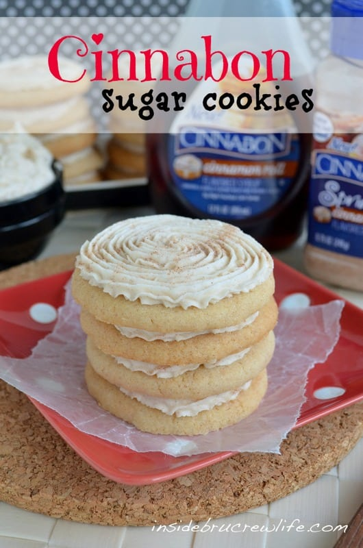 Cinnabon Sugar Cookies