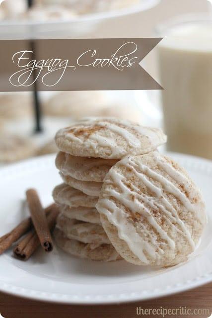 Egg Nog Cookies