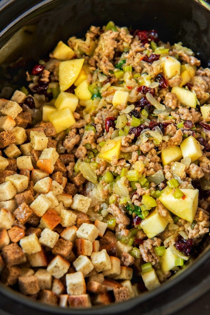 Stuffing in the CrockPot