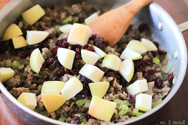 Sausage Apple Cranberry Stuffing - Stuffing Recipe Easy