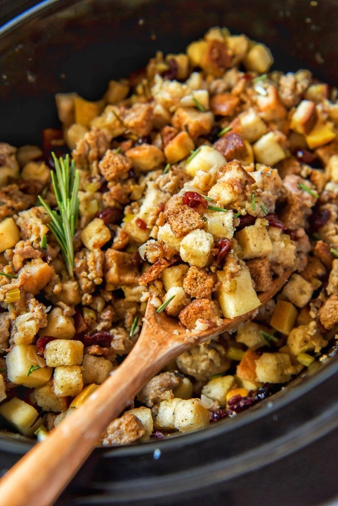 Sausage Apple Thanksgiving Stuffing