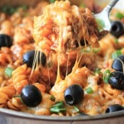 One Pan Enchilada Pasta_