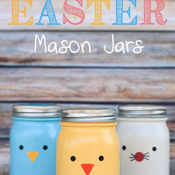 Easter Mason Jars Craft