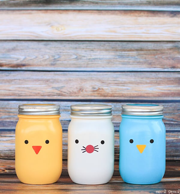 Easter mason jars craft for Projects to do with mason jars