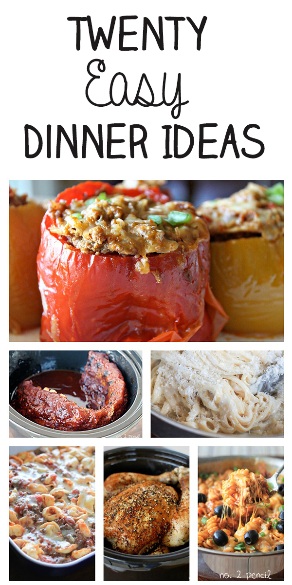 20 easy dinner ideas for the whole family forumfinder Choice Image