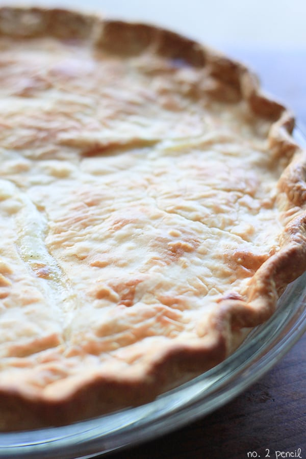 Homemade Chicken Pot Pie - this recipe makes one to bake and one to freeze!