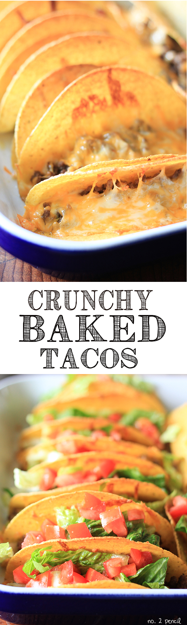 Crunchy Baked Tacos