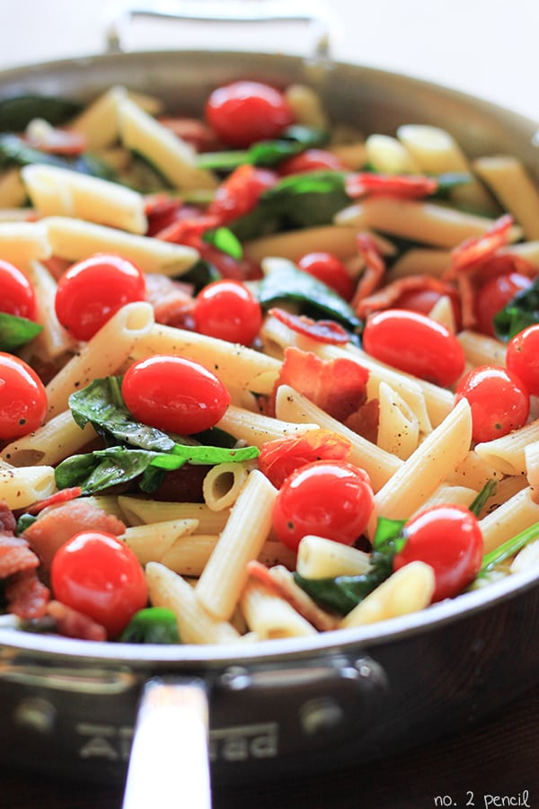 Easy BLT Pasta