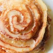 Orange Sweet Roll Pancakes-3