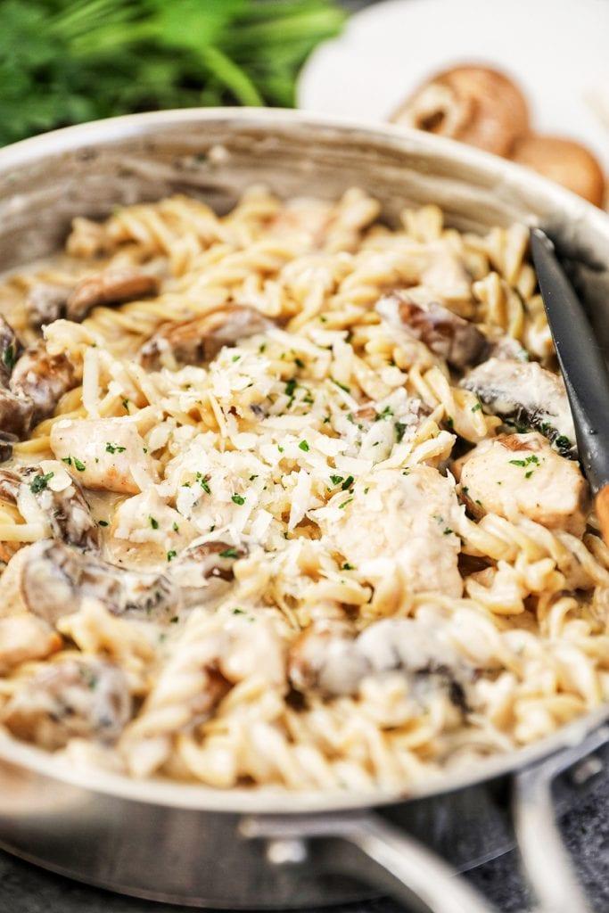 Chicken & Mushrooms Recipe