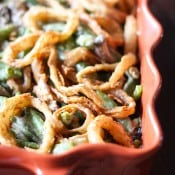 Homemade Green Bean Casserole-7