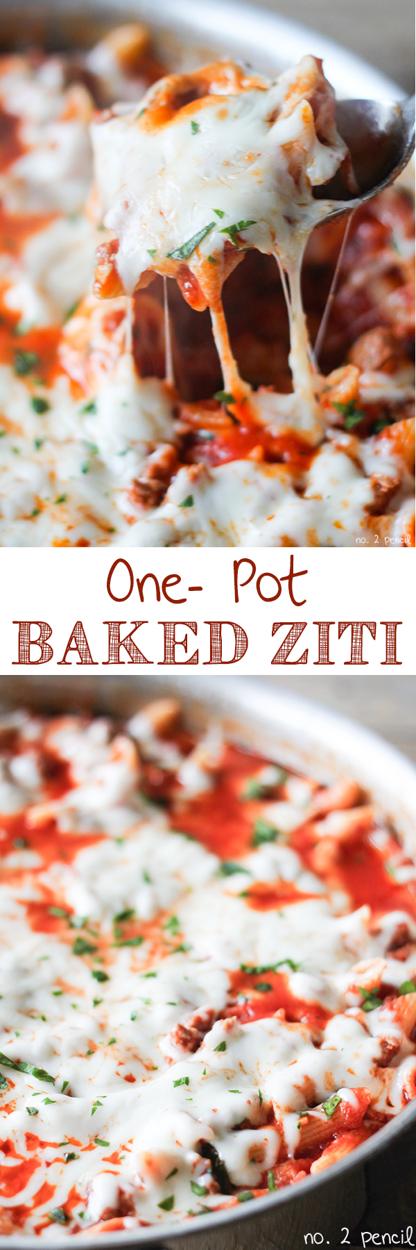 One-Pot Baked Ziti