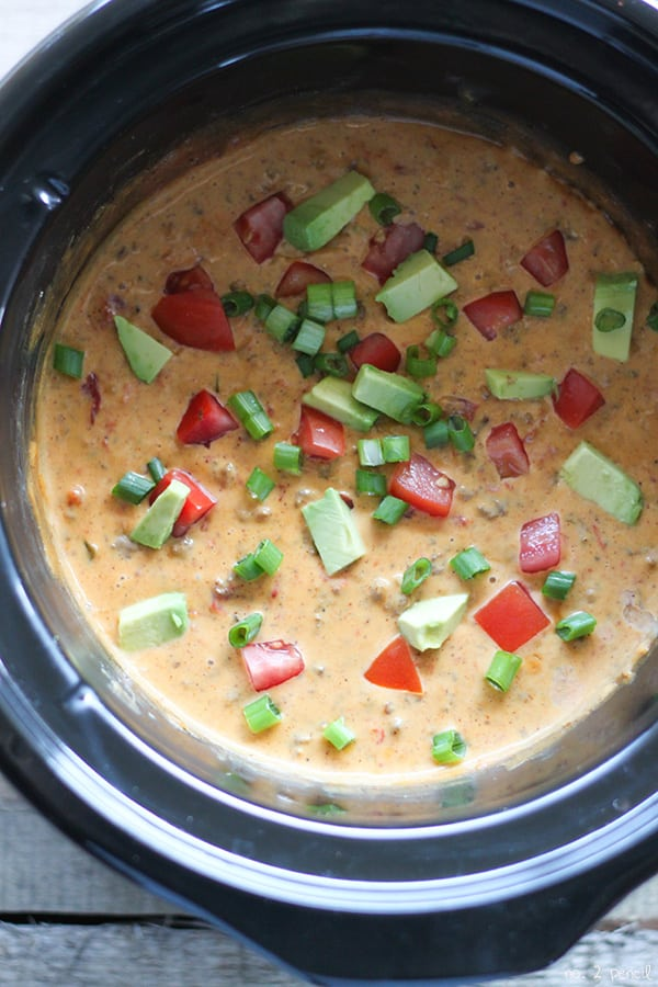 Taco Queso Dip and a Football Party-8
