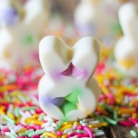 White Chocolate Bunny Bark Bites-6