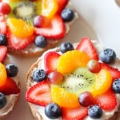 Bagel Fruit Pizzas 1
