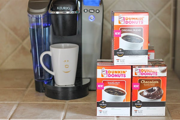 Dunkin' Donuts Coffee K-Cups Pods #DunkinKcupLove