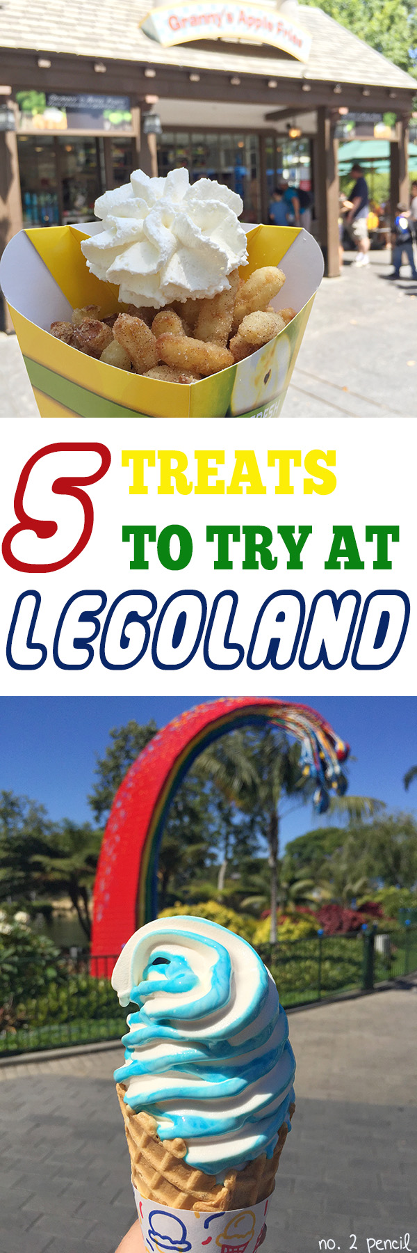 Top 5 Treats to Eat at Legoland
