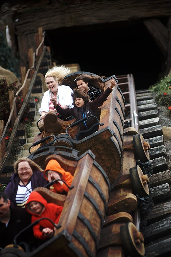 Seven Dwarfs Mine Train at Disney World Magic Kingdom